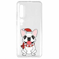 Чехол для Xiaomi Mi10/10 Pro New Year's French Bulldog