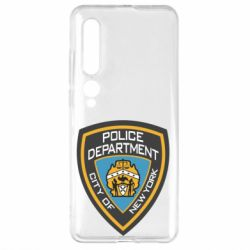 Чехол для Xiaomi Mi10/10 Pro New York Police Department