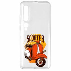 Чехол для Xiaomi Mi10/10 Pro Orange scooter