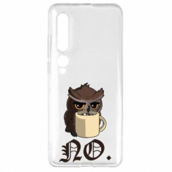 Чехол для Xiaomi Mi10/10 Pro Owl and coffee
