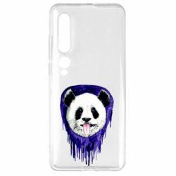 Чехол для Xiaomi Mi10/10 Pro Panda on a watercolor stain