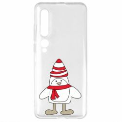 Чехол для Xiaomi Mi10/10 Pro Penguin in the hat and scarf