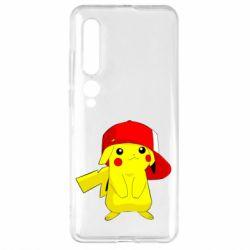 Чехол для Xiaomi Mi10/10 Pro Pikachu in a cap