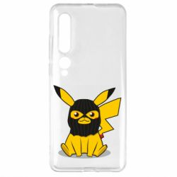 Чехол для Xiaomi Mi10/10 Pro Pikachu in balaclava