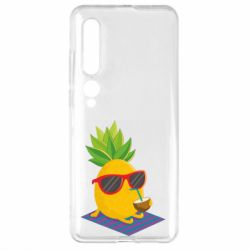 Чехол для Xiaomi Mi10/10 Pro Pineapple with coconut