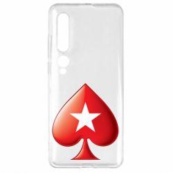 Чехол для Xiaomi Mi10/10 Pro Poker Stars 3D Logo