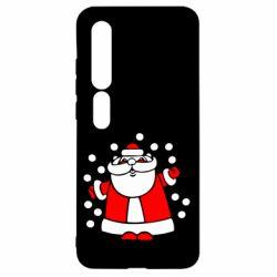 Чехол для Xiaomi Mi10/10 Pro Прикольный дед мороз