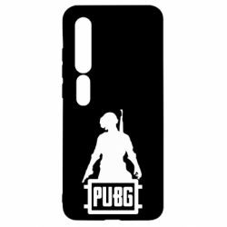 Чехол для Xiaomi Mi10/10 Pro PUBG logo and hero