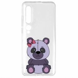 Чехол для Xiaomi Mi10/10 Pro Purple Teddy Bear