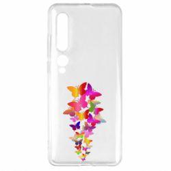 Чехол для Xiaomi Mi10/10 Pro Rainbow butterflies