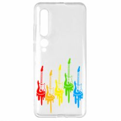 Чехол для Xiaomi Mi10/10 Pro Разноцветные гитары