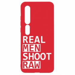 Чехол для Xiaomi Mi10/10 Pro Real Men Shoot RAW