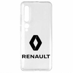 Чехол для Xiaomi Mi10/10 Pro Renault logotip
