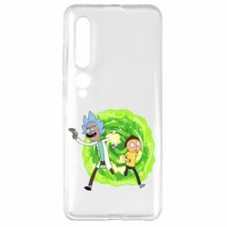 Чехол для Xiaomi Mi10/10 Pro Rick and Morty art