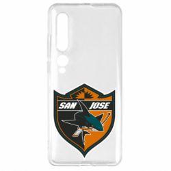 Чехол для Xiaomi Mi10/10 Pro San Jose Sharks