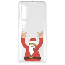 Чехол для Xiaomi Mi10/10 Pro Santa Claus with a tube