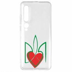 Чехол для Xiaomi Mi10/10 Pro Серце з гербом