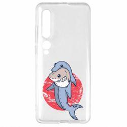 Чехол для Xiaomi Mi10/10 Pro Shark or dolphin