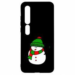 Чехол для Xiaomi Mi10/10 Pro Снеговик