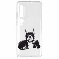 Чехол для Xiaomi Mi10/10 Pro Собака в боксерских перчатках