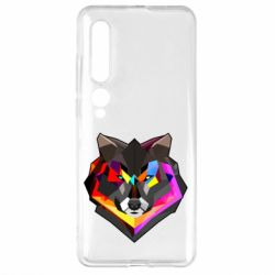 Чехол для Xiaomi Mi10/10 Pro Сolorful wolf