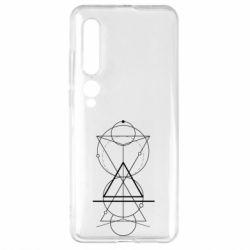 Чехол для Xiaomi Mi10/10 Pro Сomposition of geometric shapes