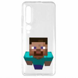 Чехол для Xiaomi Mi10/10 Pro Steve from Minecraft