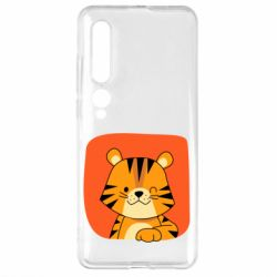 Чехол для Xiaomi Mi10/10 Pro Striped tiger with smile