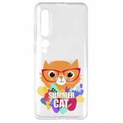 Чехол для Xiaomi Mi10/10 Pro Summer cat