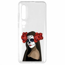 Чехол для Xiaomi Mi10/10 Pro The girl in the image of the day of the dead