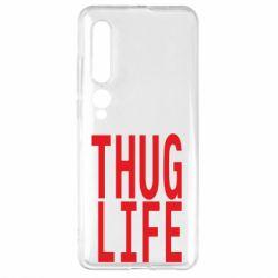 Чехол для Xiaomi Mi10/10 Pro thug life