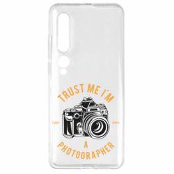 Чехол для Xiaomi Mi10/10 Pro Trust me i'm photographer