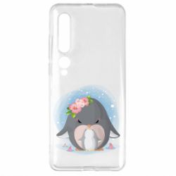 Чехол для Xiaomi Mi10/10 Pro Two cute penguins