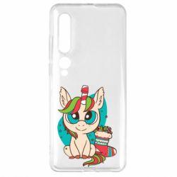 Чехол для Xiaomi Mi10/10 Pro Unicorn Christmas