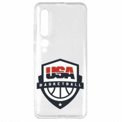 Чехол для Xiaomi Mi10/10 Pro USA basketball