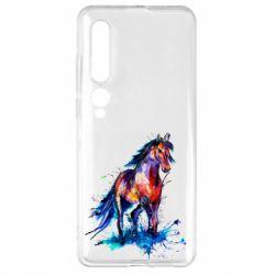 Чехол для Xiaomi Mi10/10 Pro Watercolor horse