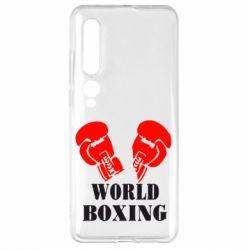 Чехол для Xiaomi Mi10/10 Pro World Boxing