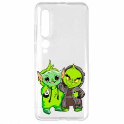 Чехол для Xiaomi Mi10/10 Pro Yoda and Grinch