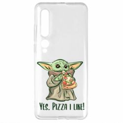 Чехол для Xiaomi Mi10/10 Pro Yoda and pizza