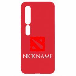 Чехол для Xiaomi Mi10/10 Pro Your nickname Dota2