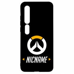 Чехол для Xiaomi Mi10/10 Pro Your Nickname Overwatch