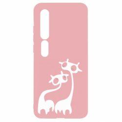 Чехол для Xiaomi Mi10/10 Pro Жирафы