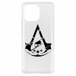 Чехол для Xiaomi Mi11 Assassin's Creed and skull 1