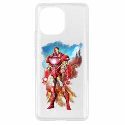 Чохол для Xiaomi Mi11 Avengers iron man drawing