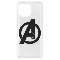 Чехол для Xiaomi Mi11 Avengers logo