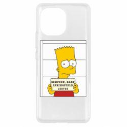 Чехол для Xiaomi Mi11 Барт в тюряге