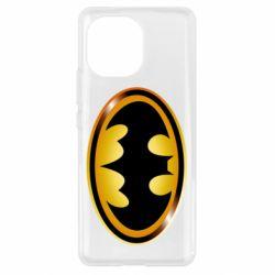 Чохол для Xiaomi Mi11 Batman logo Gold