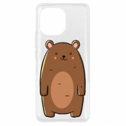 Чехол для Xiaomi Mi11 Bear with a smile