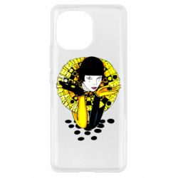 Чехол для Xiaomi Mi11 Black and yellow clown