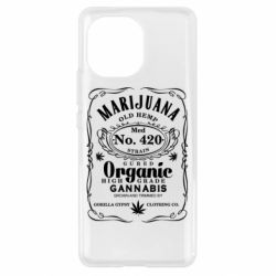Чохол для Xiaomi Mi11 Cannabis label